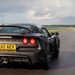 Lotus Exige S On Lotus Test Track Rear