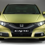 New Honda Civic Front