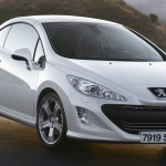 Peugeot 308CC roof up
