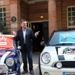 Robert Powell and the Italian Job MINIs