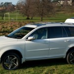 Volvo XC90 family shot