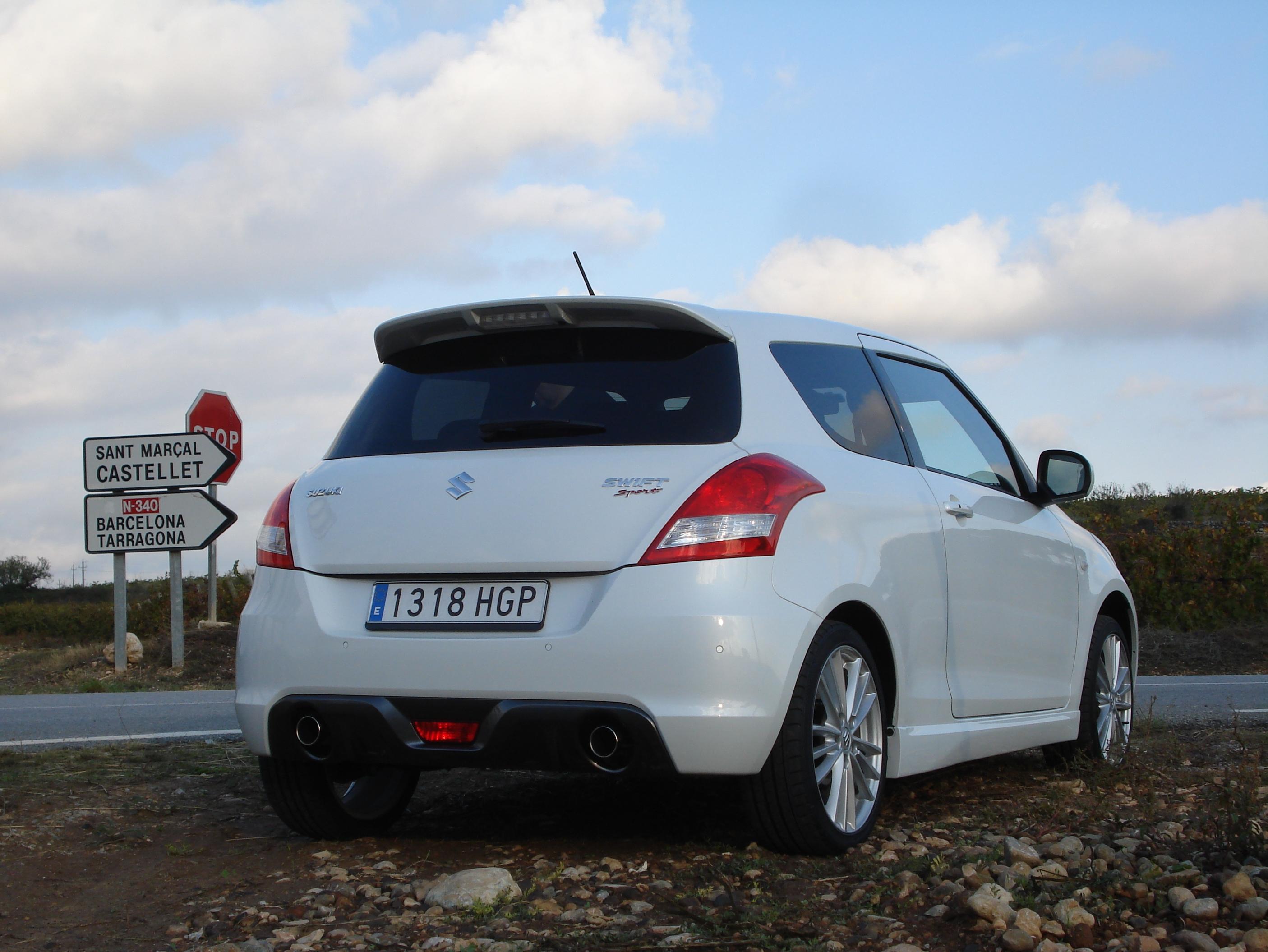 New Suzuki Swift Sport Car Write Ups