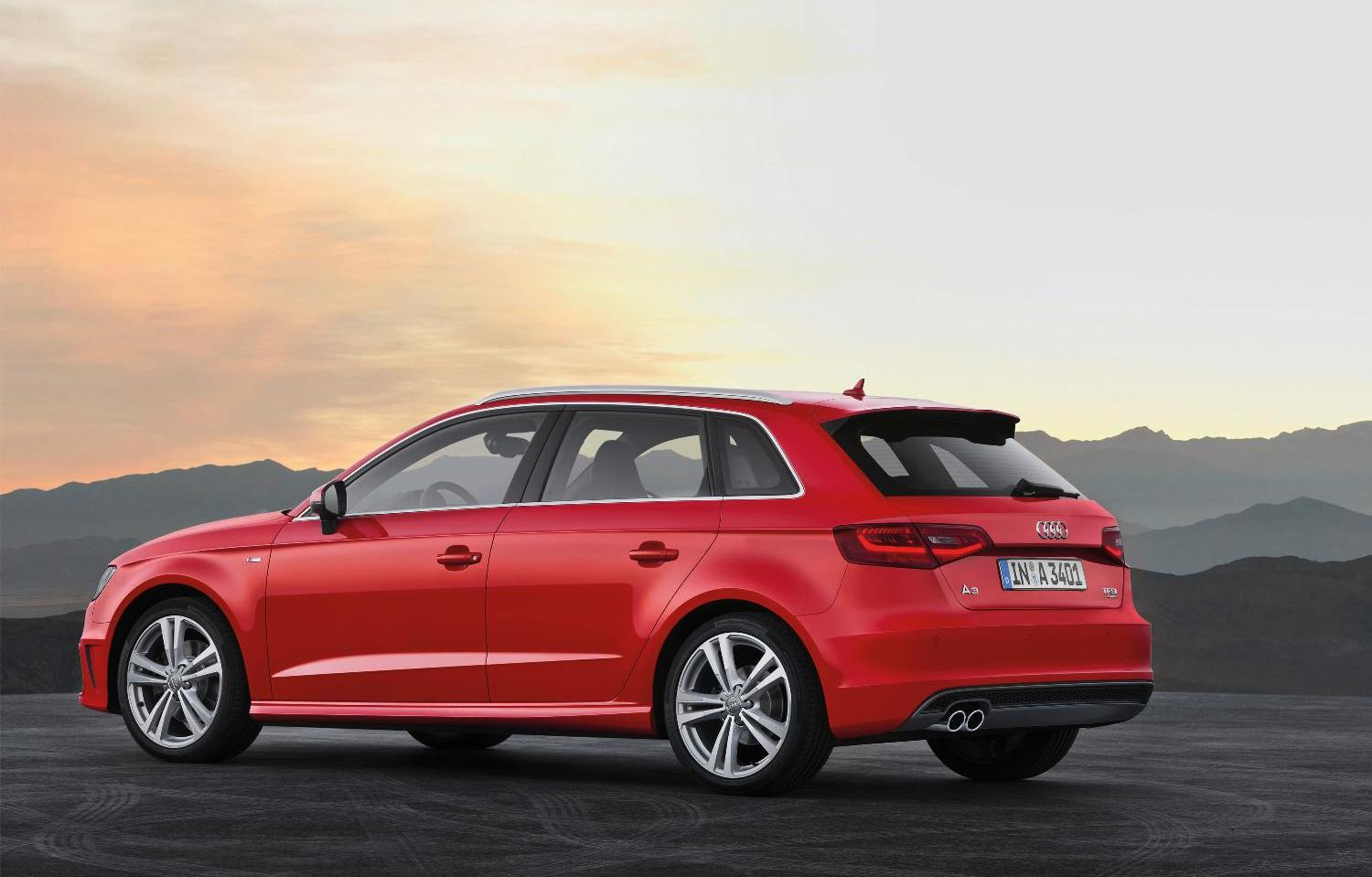 new audi a3 sportback car write ups. Black Bedroom Furniture Sets. Home Design Ideas