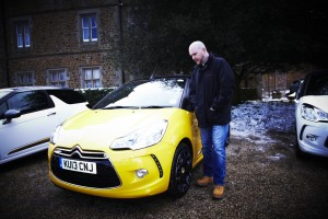 Tim with Citroën DS3