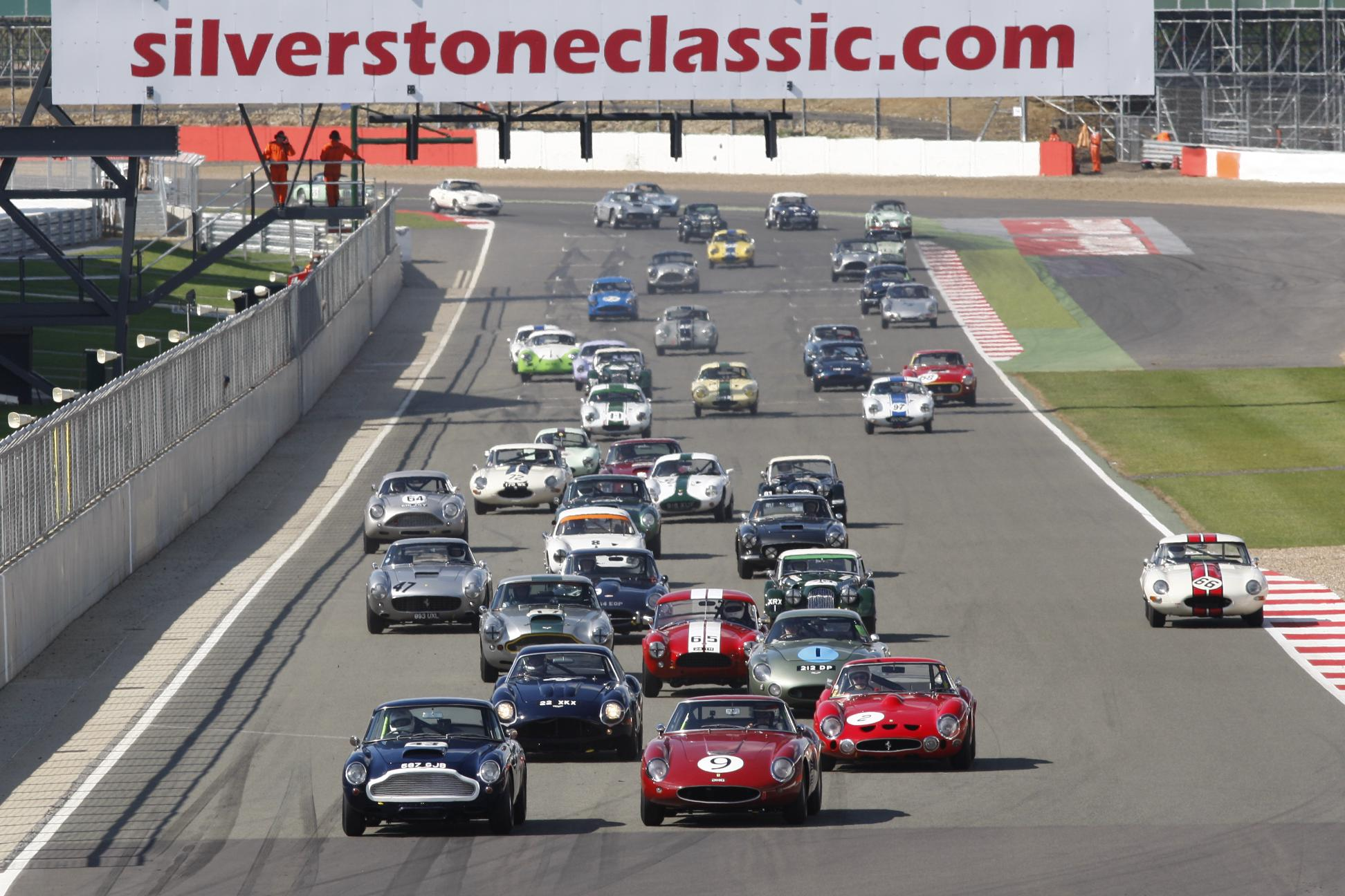 ASTON MARTIN CELEBRATES 100 YEARS AT 2013 SILVERSTONE CLASSIC - Car ...