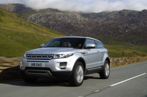 Range Rover Evoque - MGMW Green Apple Awards 2013 Winner Small SUV & 4*4  Class