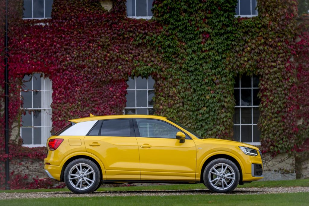 a review of the new audi q2 crossover - arriving in uk showrooms now.