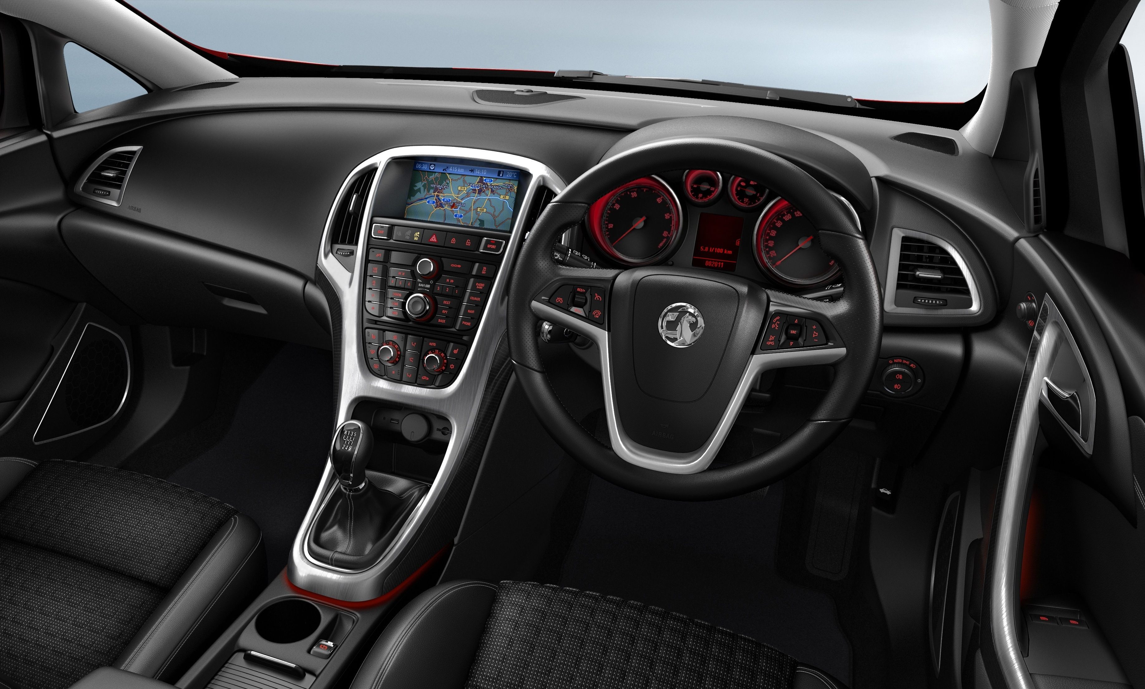 Vauxhall Astra Gtc Interior Car Write Upscar Write Ups