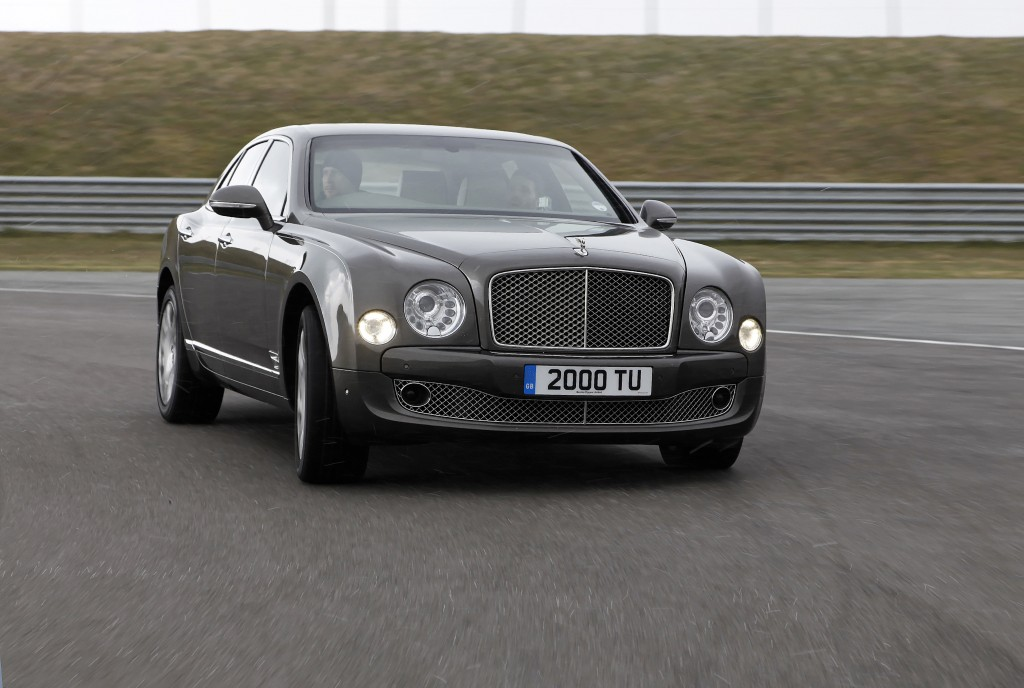 Bentley Mulsanne - Tim at wheel