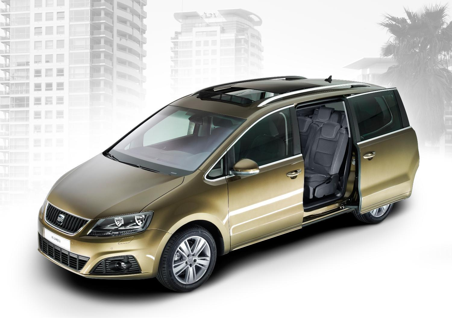 Cars With Third Row Seating >> SEAT Alhambra SE 2.0 TDI CR Ecomotive 140 PS - Car Write ...