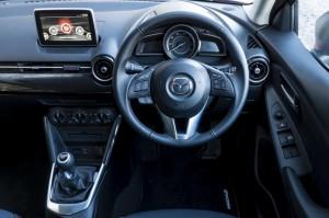 All New Mazda2 Cabin