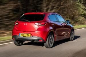 All New Mazda2 Rear